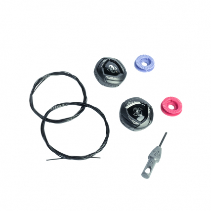 Boa® IP1 Kit Left and Right Road - Black