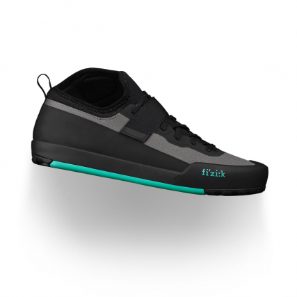 fizik gravita tensor  grey aquamarine shoes freeride flat