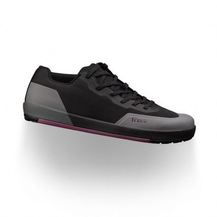 fizik gravita versor black purple shoes freeride flat