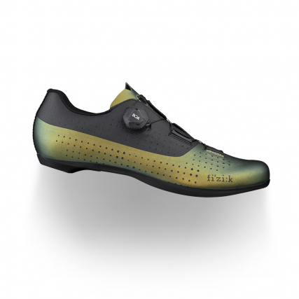 Tempo overcurve R4 wide fit road cycling green shoes