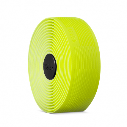 vento solocush tacky 2.7mm road cycling fizik bar tape yellow fluo